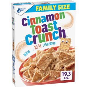 Cereal Cinnamon Toast Crunch Family Size