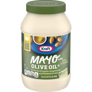 Kraft Mayo Reduced Fat Mayonnaise with Olive Oil 30 Fl