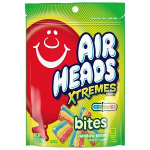 Airheads Xtremes Bites Sweetly Sour Candy Resealable Stand