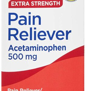 Equate Extra Strength Pain RelieverTablets, 500 mg 40 Tab Acetaminofen