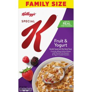 Kellogg's Special K, Breakfast Cereal, Fruit and Yogurt Family Size