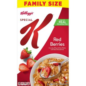 Kellogg's Special K, Breakfast Cereal, Red Berries, Value Size