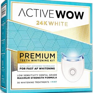 Active Wow 24K White Premium teeth whitening kit