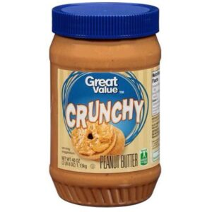 Great Value Crunchy Peanut Butter 40 oz