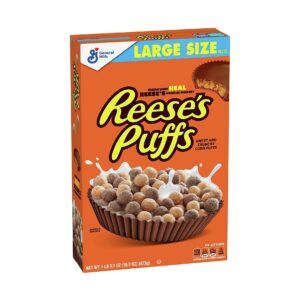 Reese's Peanut Butter Puffs Large Size