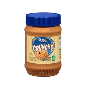Great Value Crunchy Peanut Butter 18 oz